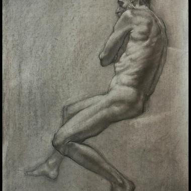 Life Drawing - Bill 5 - Jeremy Davis0104