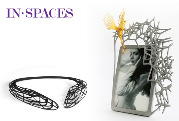 IN SPACES 3D printed collection featured in BEAUTIFUL NOW!