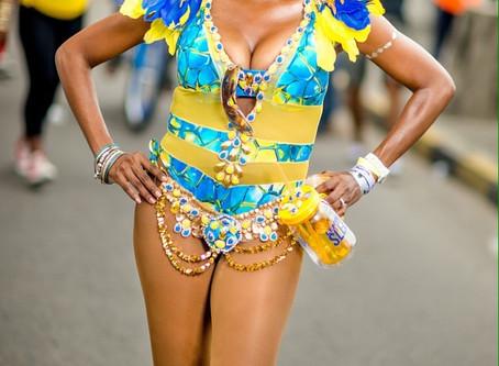 LEH WE GO in Carnival Stockings