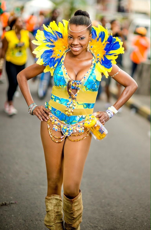 jamaica carnival leh we go sleek section in carnival stockings