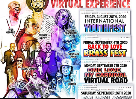 NY (VIRTUAL) CARNIVAL 2020 LINE UP IS HERE