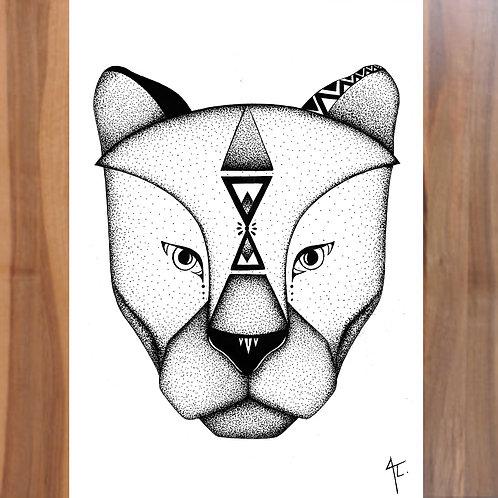 Animal Totem Panthère