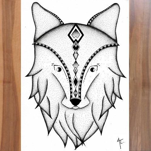 Animal Totem Louve