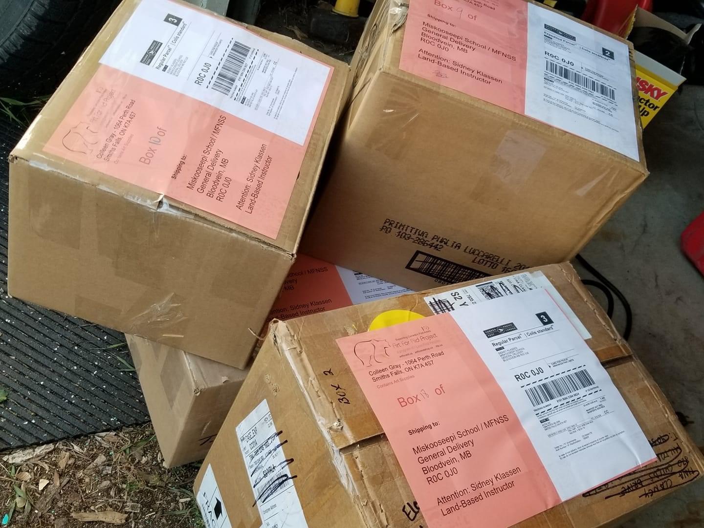 Art supply donations Fall 2020 ready to ship