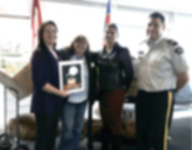 National Aboriginal Policing Services donating art supplies