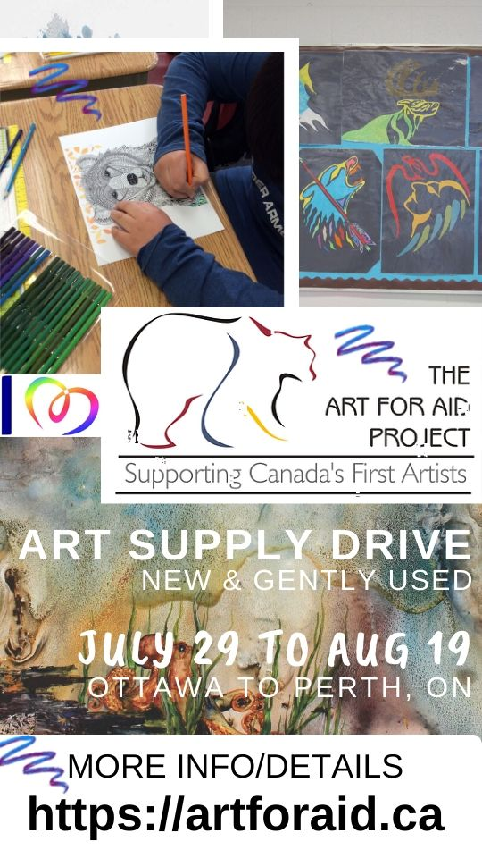 AFAP - Poster web size Art Supply Drive