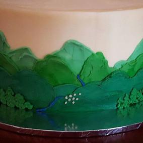 Prosecco cake