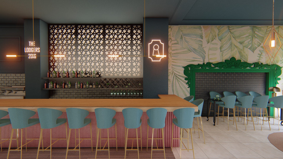 coffee bar interior design