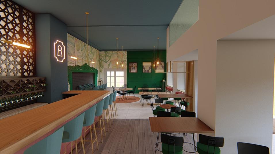 caffee bar design