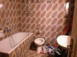 το μπάνιο πριν την ανακάινιση