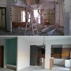 ανακαίνιση πριν - μετά