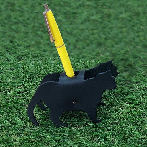 Pen stand cat