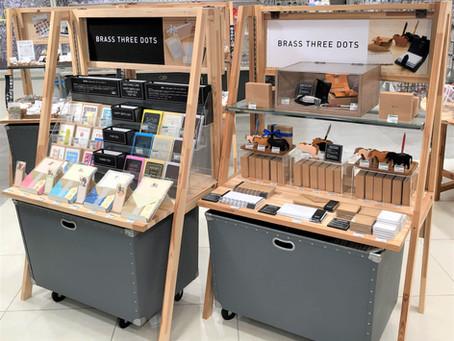 東急ハンズ梅田店にてPOPUP SHOPを展開中