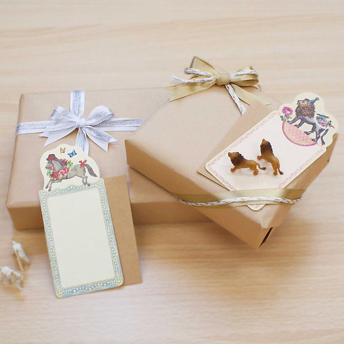 Mini card animal