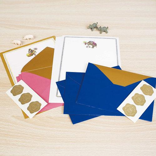 Letter set animal