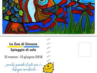 Lo Zoo di Simona (Angeletti) espone alla Spiaggia di Sale di Terni