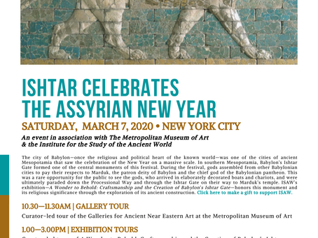 Assyrian New Year at The Metropolitan Museum of Art in NYC with Dr. Sargon Donabed