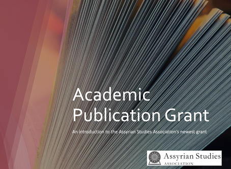 Announcement: Winner of ASA's Academic Publication Grant