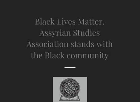 Assyrian Studies Association on Recent Protests