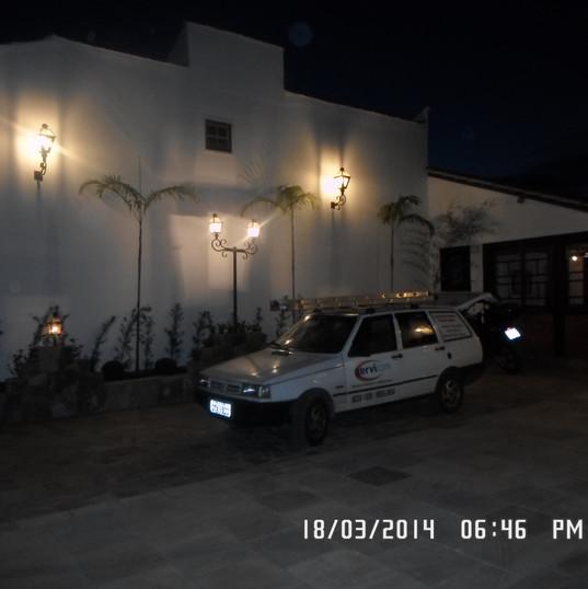 iluminaçao parede
