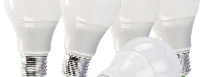 Lampada Bulbo 7w Led A60 Branco Frio Economica