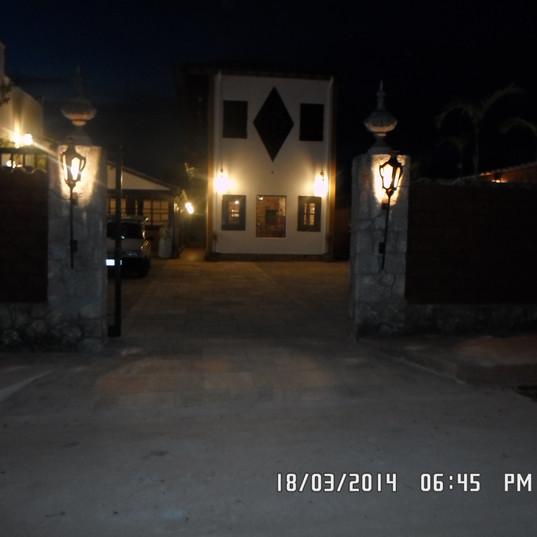 iluminaçao externa