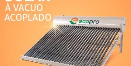 Aquecedor Solar vacuo acoplado 180 Litros Com 15 Tubos