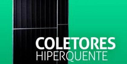 Coletor solar 2x1 vertical