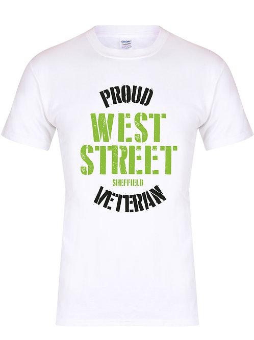 Proud West Street Veteran - Unisex Fit T-Shirt