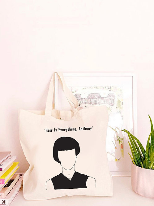 Hair Is Everything - Large Canvas Tote Bag