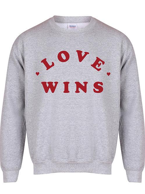 Love Wins - Unisex Fit Sweater