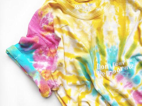 Don't Fear The Retrograde - Tie-Dye -  Unisex Fit T-Shirt