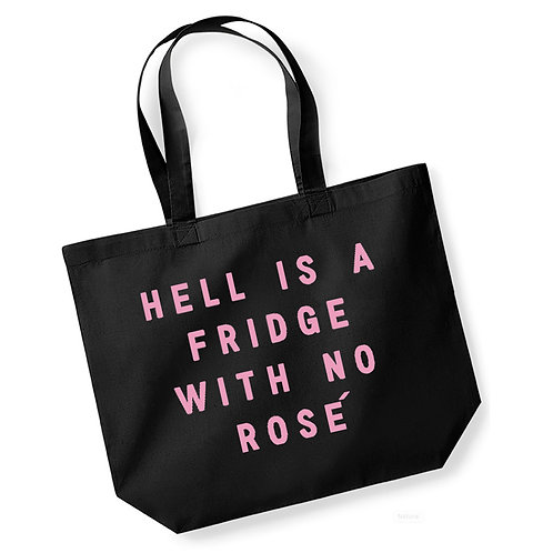 Hell Is a Fridge With No Rose - Large Canvas