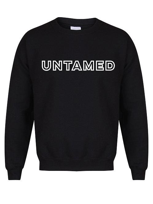 Untamed - Block Letters - Unisex Fit Sweater