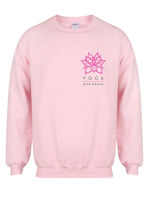 Yoga With Cassie - Unisex Fit Sweater