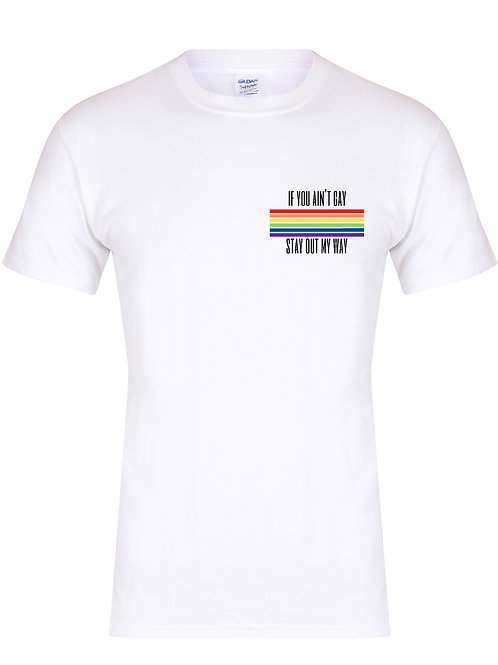 If You Ain't Gay - Pride Range -  Unisex Fit T-Shirt