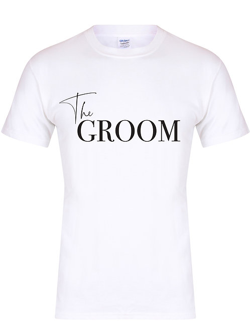 The Groom - Non Personalised - Unisex Fit T-Shirt
