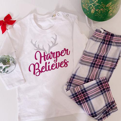 Personalised Tartan Pyjama Sets