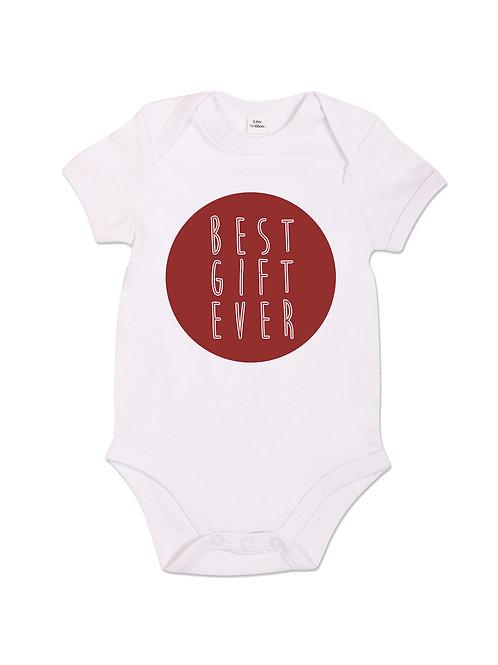 Best Gift Ever - Babygrow - White