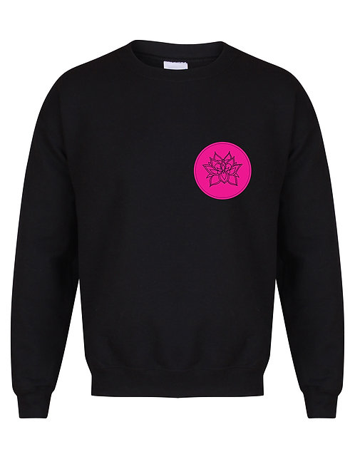 Yoga With Cassie - Stamp Logo - Unisex Fit Sweater