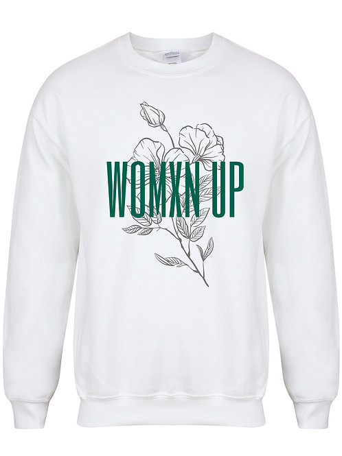 Womxn Up - Unisex Fit Sweater