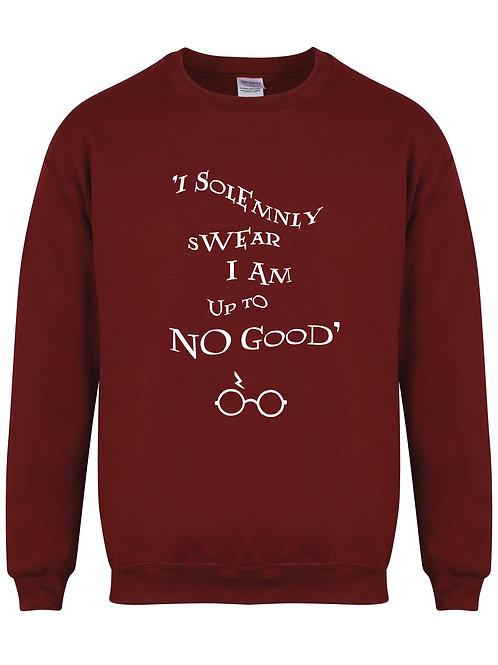 I Solemnly Swear I Am Upto No Good - Unisex Fit Sweater