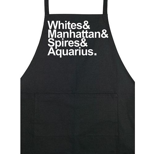 Whites - Apron - Black