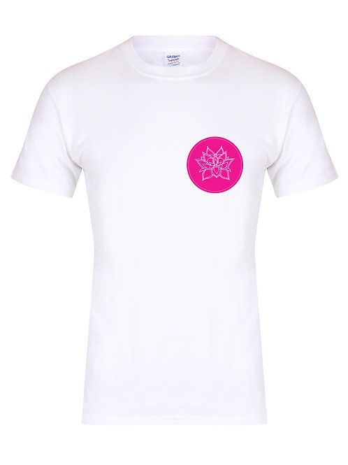 Yoga With Cassie - Stamp Logo - Unisex Fit T-Shirt