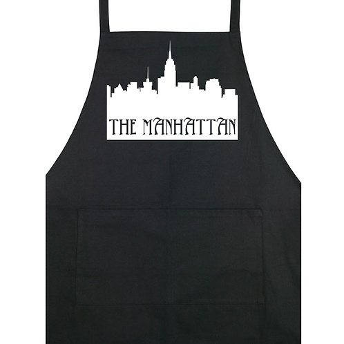 The Manhattan - Apron - Black