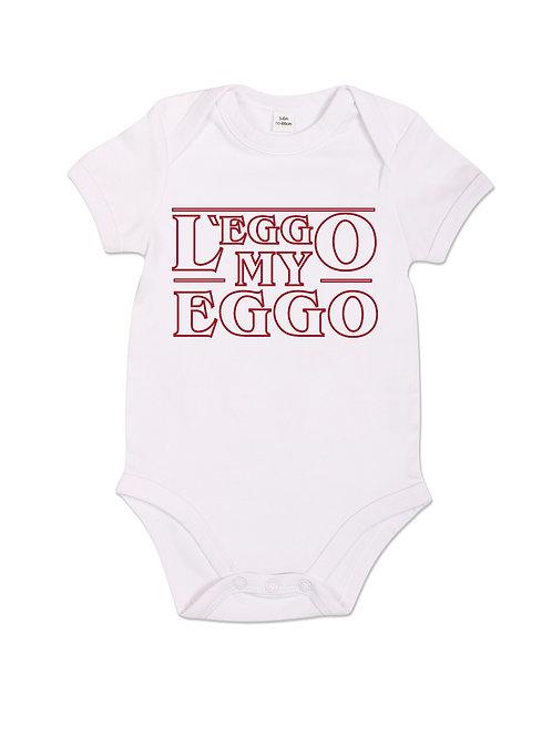 L'Eggo My Eggo - Babygrow - White