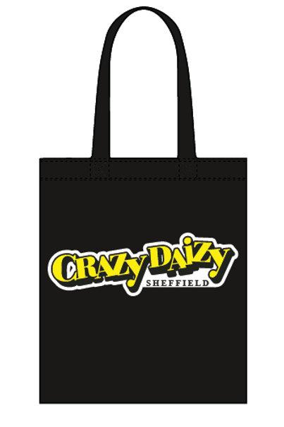 Crazy Daizy - Canvas Tote Bag