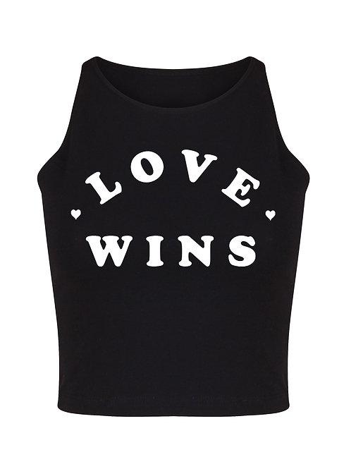 Love Wins - Women's Crop Top