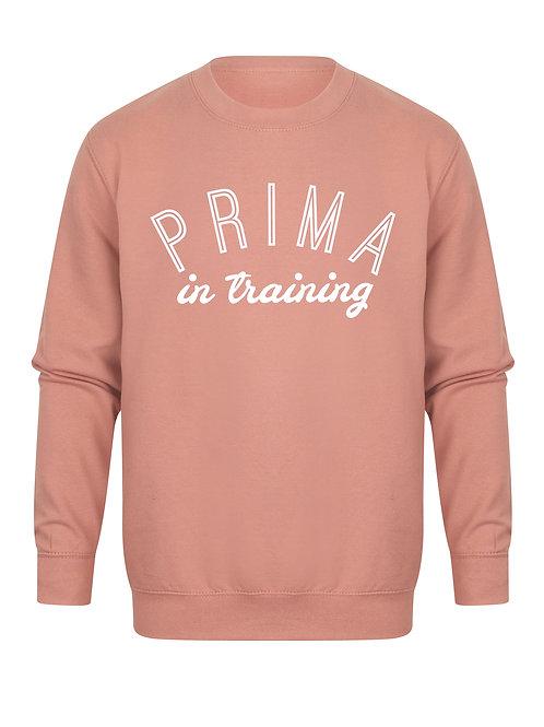 Prima In Training - Unisex Fit Sweater - Kelham Print x Mama.Does.Ballet