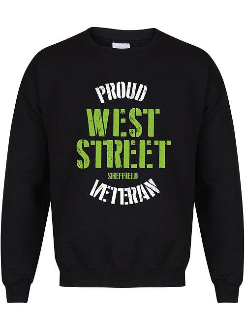 Proud West Street Veteran - Unisex Fit Sweater